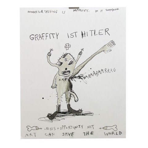 Graffity-ist-Hitler