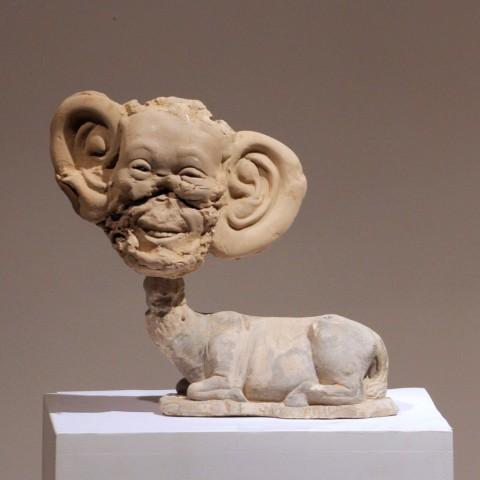 big-ears-smiling-head+animal-body--26x28x9--150