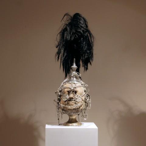 black-ponytail-warrior-kriegerisch--68x20x23--180