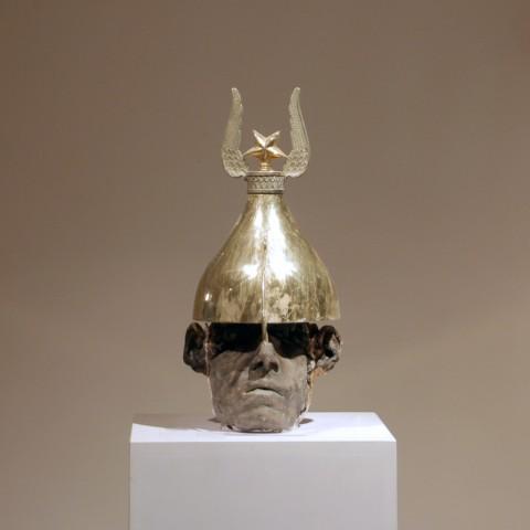 gold-helmet+wings+star-warrior-kriegerisch--41x23x15--180