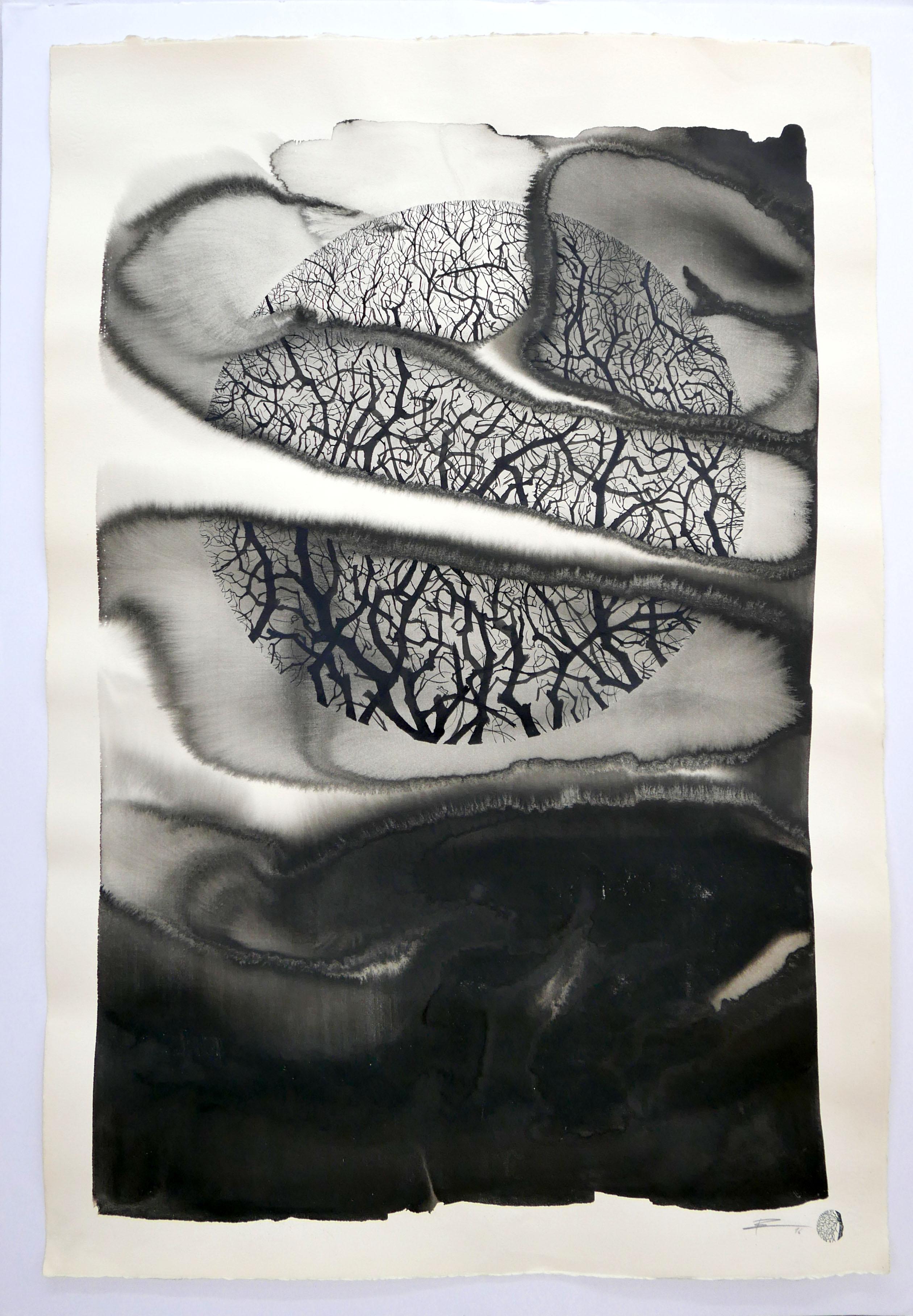 pablo s herrero_Sin título_Técnica mixta sobre papel_102 x 78 cm_2106