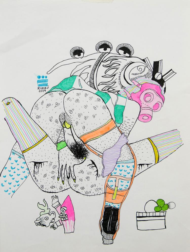_Mirus-y-Yorch--Papel-y-bolígrafo-20.5x28cm.--2014