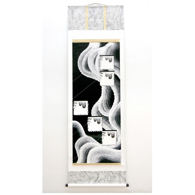 essu-shuu-ha-suu-mixed-media-on-paper-186x60-cm-2016