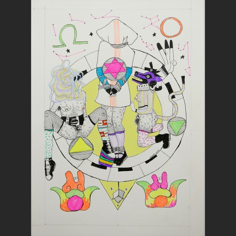 triada-papel-boli-pintura-acrili-34x48cm-2015-410-euros