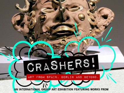 CRASHERS! Art from Spain, Berlin and Beyond  |  Group Show  |  18.03.2017 – 27.03.2017