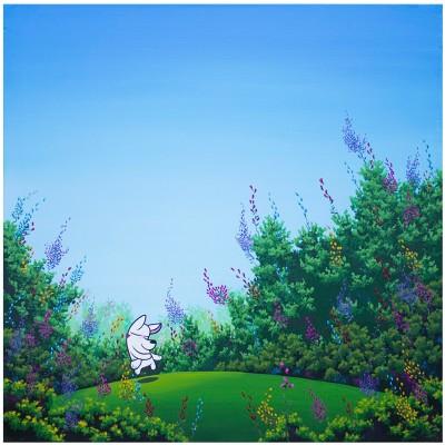'La-elevación-de-la-polinización-primaveral'-.-Acrílico-sobre-lienzo--2015-80x80-1200€