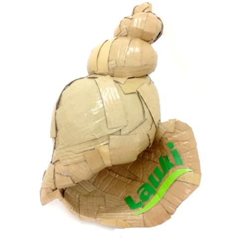 Lauki Seashell 30 x 45 x 24 cm Cartón y barniz acrílico 2017 900€